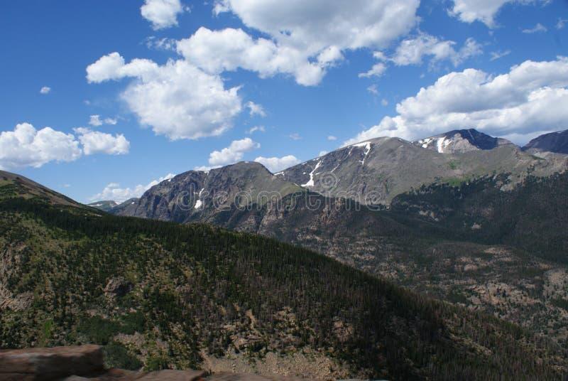 steniga berg av colorado arkivfoton