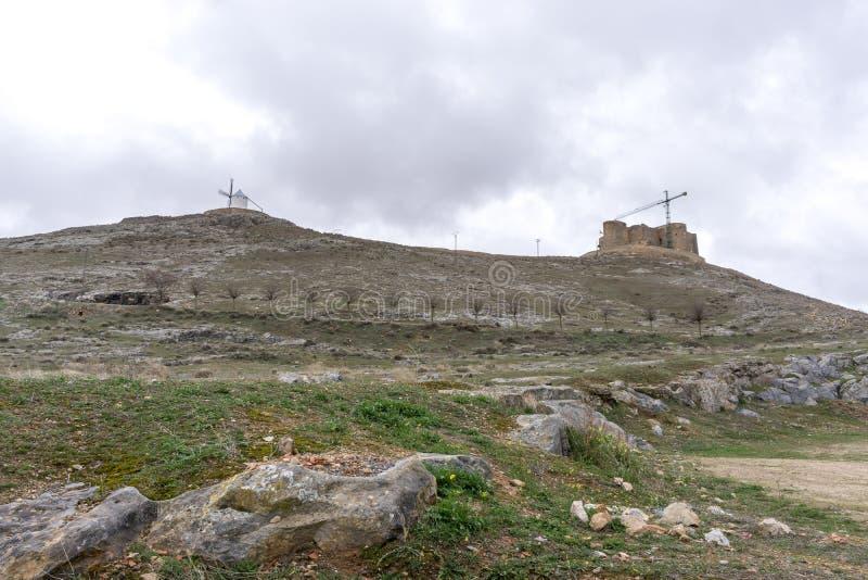 Steniga kullar av consuegra arkivfoton