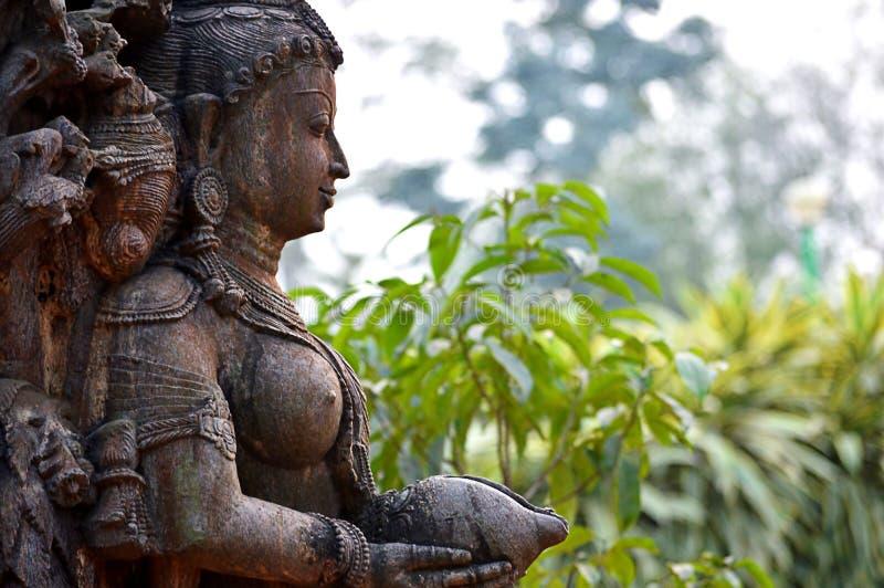Stenkonst i Indien fotografering för bildbyråer