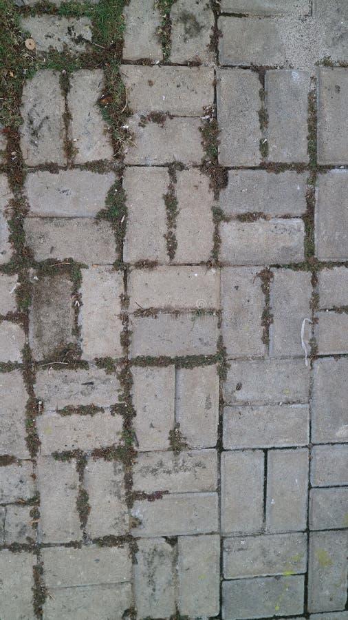 Stenlägga kvartertextur arkivfoton