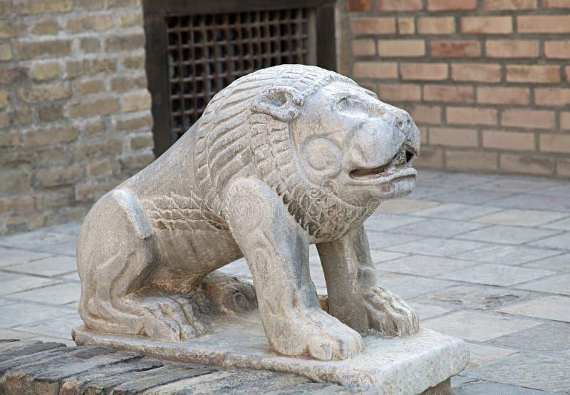 Download Stenlejon, Uzbekistan arkivfoto. Bild av gammalt, garnering - 78730960