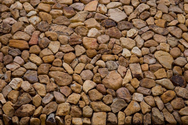 Stenmaterial, tegelsten, tegelstenvägg, cirkel, konstruktionsram arkivfoto