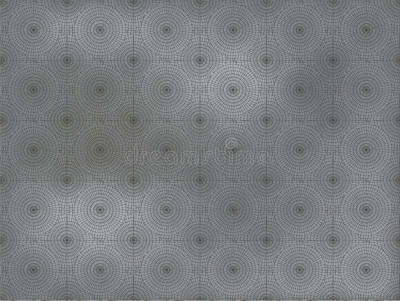 Stenmosaikyttersida stock illustrationer