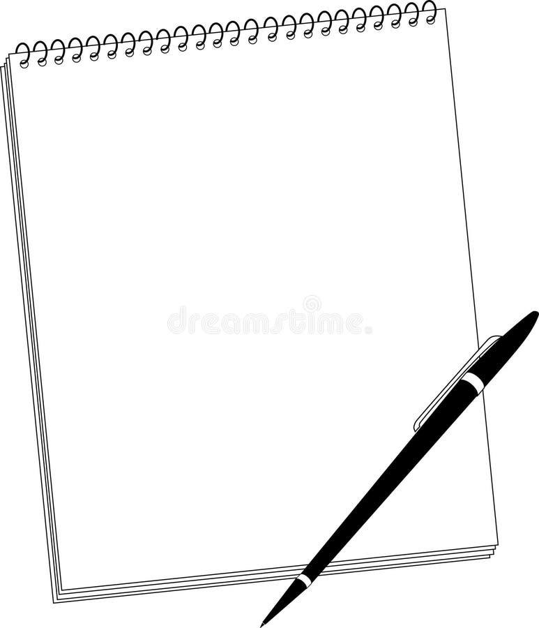 Steno Auflage lizenzfreies stockbild