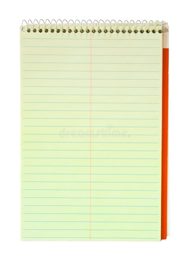 Steno Notebook stock photo