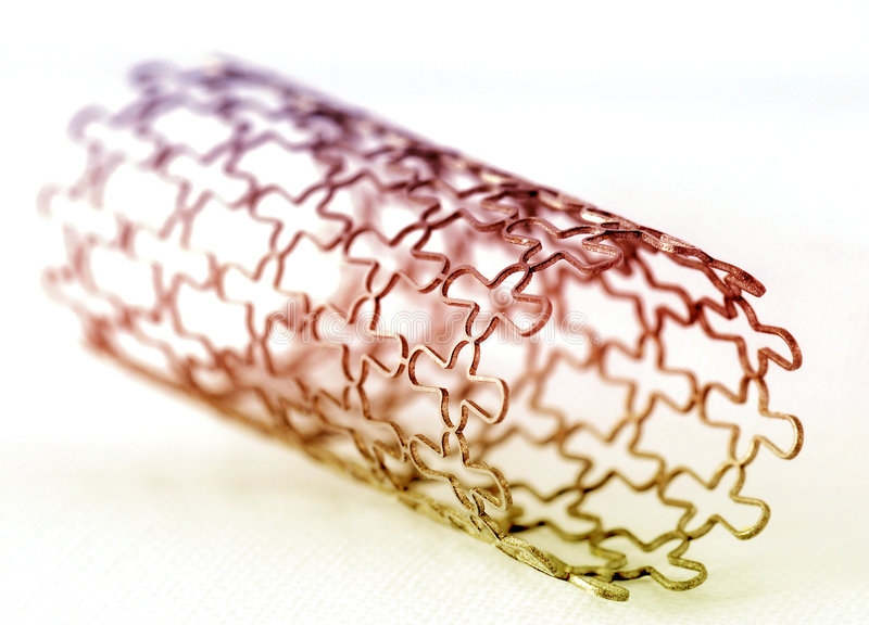 Download Stent stock image. Image of closeup, artery, circle, focus - 7740739