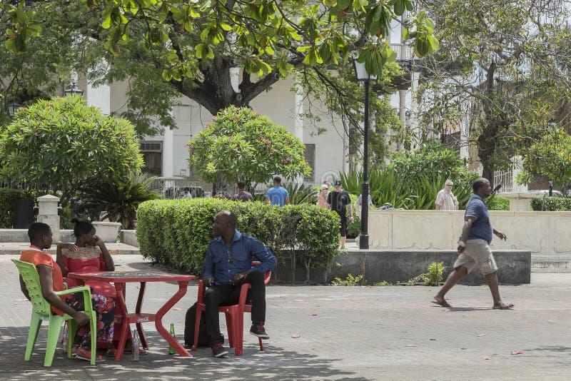 StenTown, Zanzibar arkivfoton