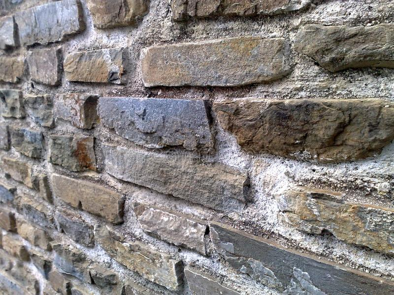 Stenvägg i Italien arkivfoto