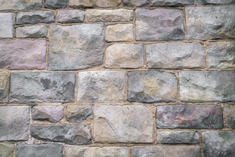 Stenväggen texturerar bakgrund royaltyfria foton