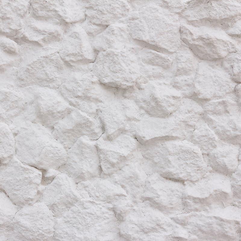 stenväggwhite arkivfoto