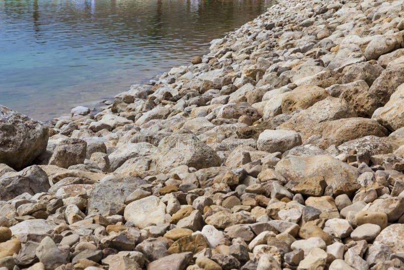Stenvattenkant fotografering för bildbyråer