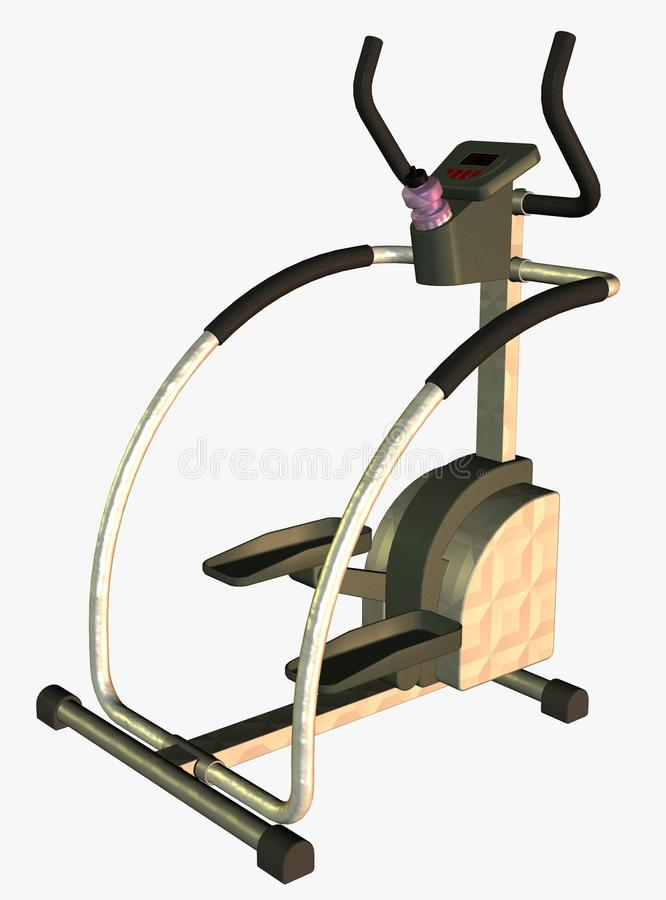 Step Exercise Machine Royalty Free Stock Images