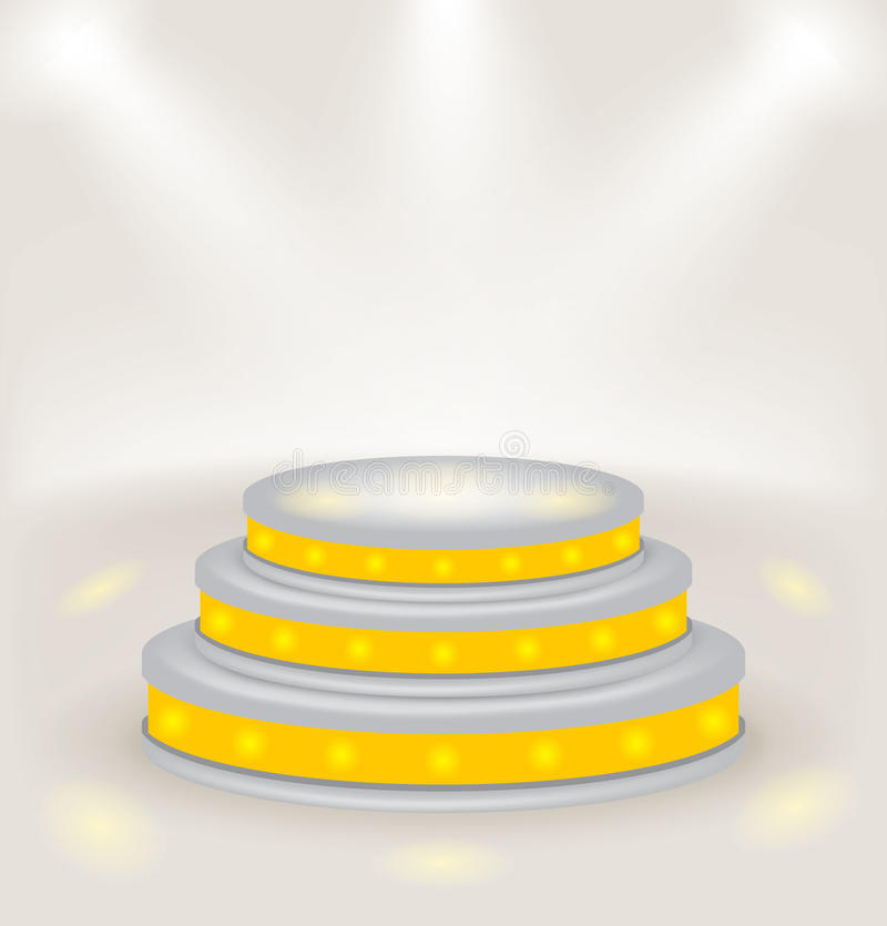 Download Step Podium. Vector. Stock Photography - Image: 28104302