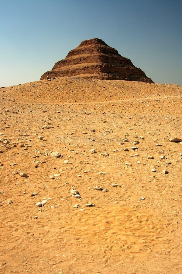 Step Pyramid 3 royalty free stock image