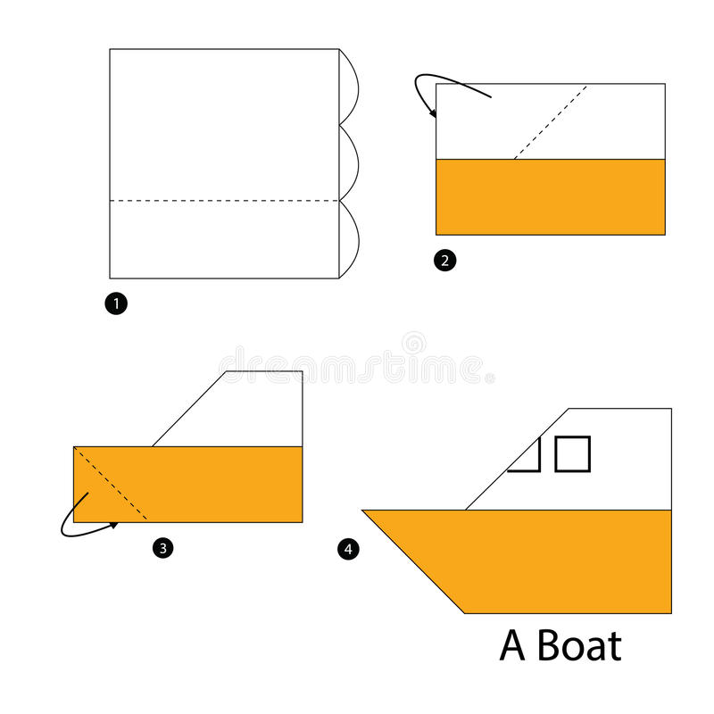 How to make an Origami Boat | STEM Little Explorers | 800x800
