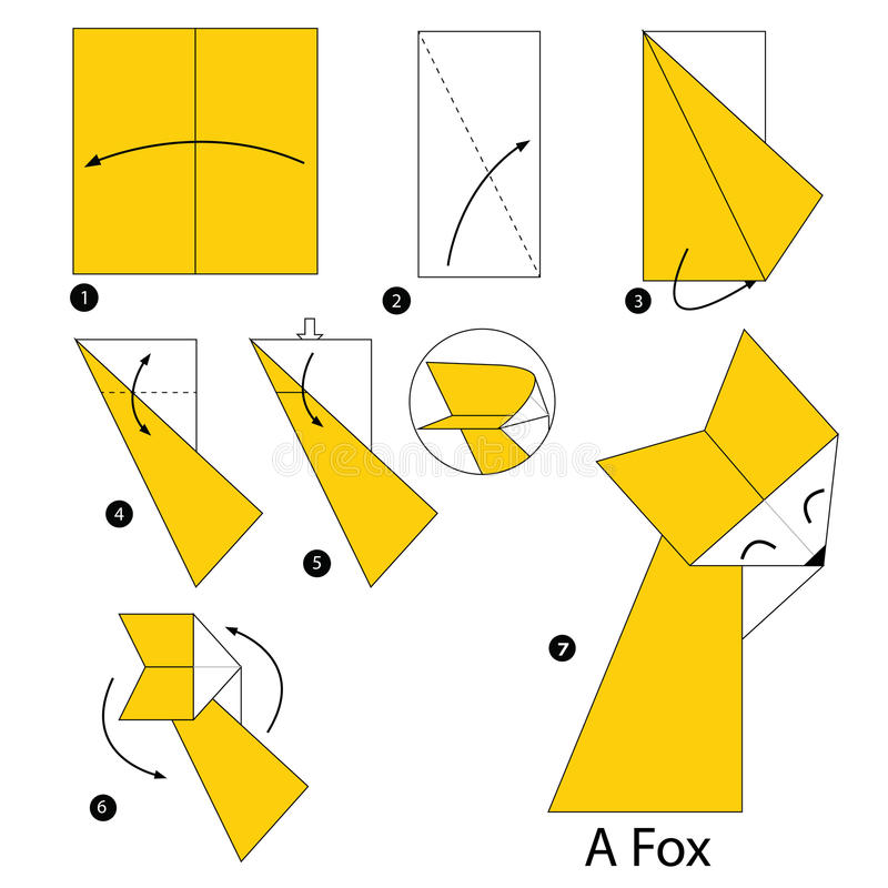 How To Make An Origami Fox Puppet - Folding Instructions - Origami Guide | 800x800