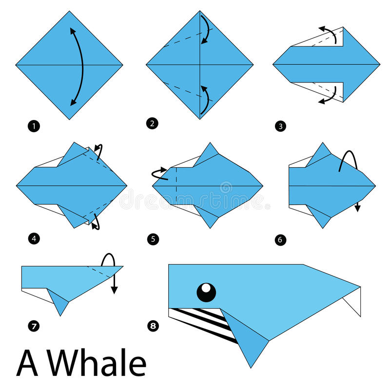 Easy Origami Whale - Paper Crafts for Kids - Red Ted Art - Make crafting  with kids easy & fun | 800x800