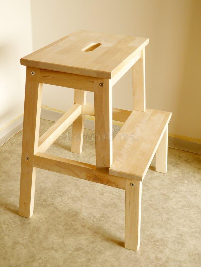 Step stool royalty free stock photo