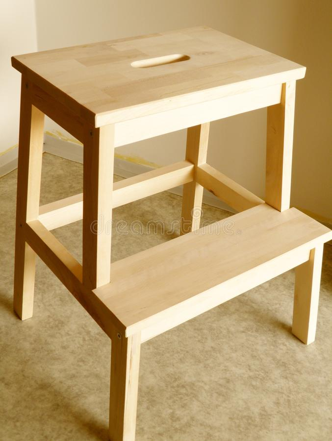 Step stool royalty free stock photography