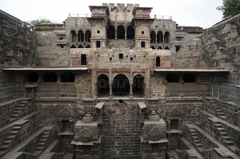 Step well of abhaneri royalty free stock photography