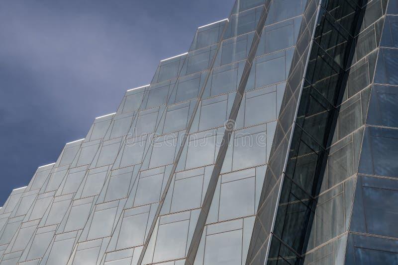 Stepes формирует стекло стоковое изображение rf