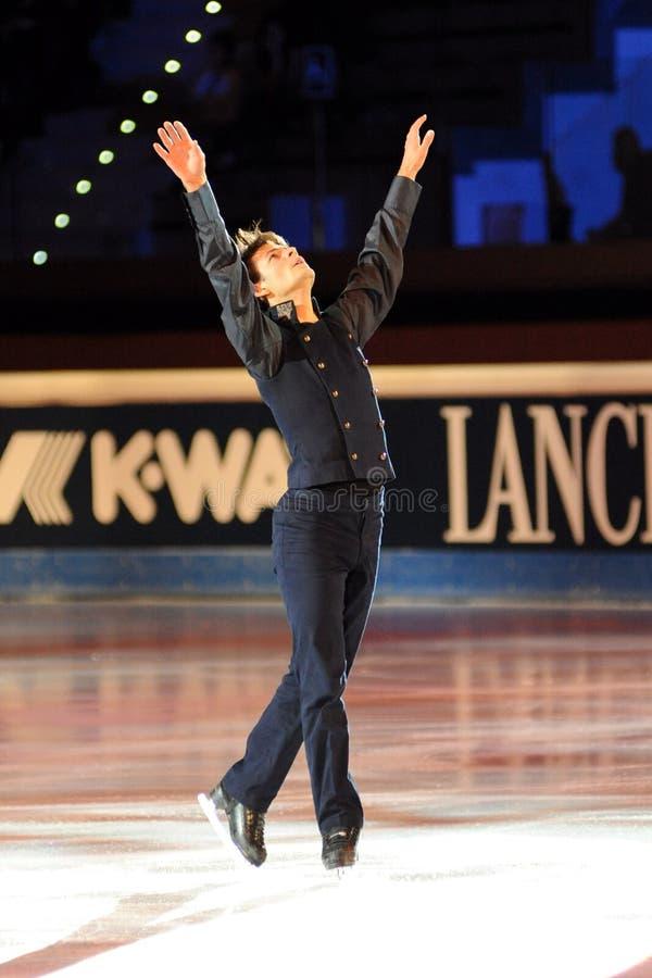 Stephane Lambiel at 2011 Golden Skate Award