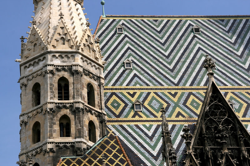 Stephansdom cathedral royalty free stock photo