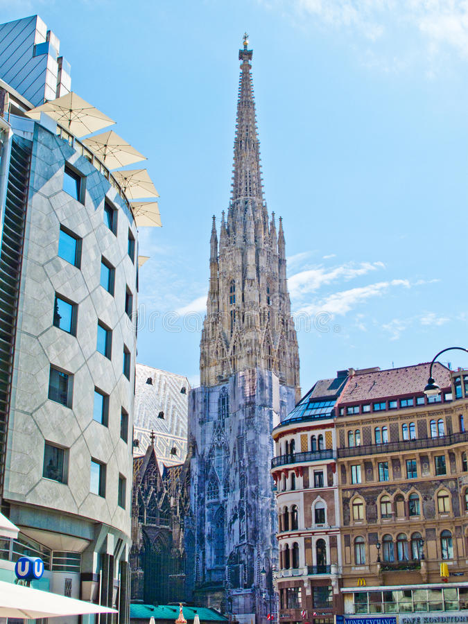 Stephansdom Vienna royalty free stock image