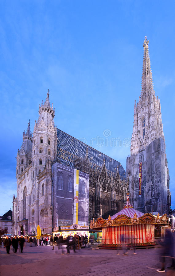 Stephansdom a Vienna immagine stock