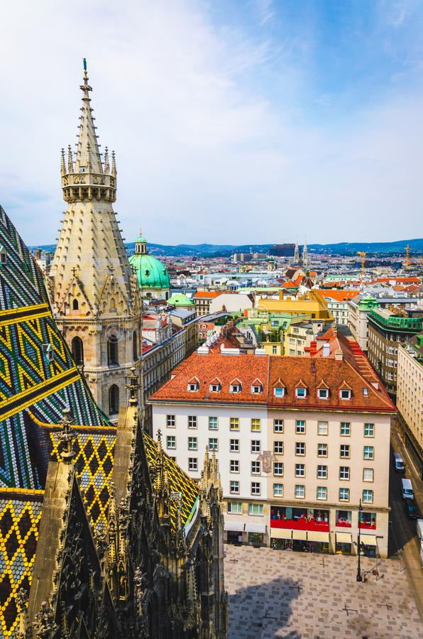 Free Stephansplatz At Vienna Old Town Royalty Free Stock Photo - 124952695