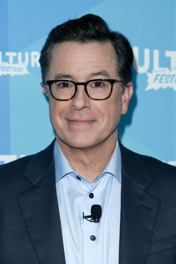 Stephen Colbert image libre de droits