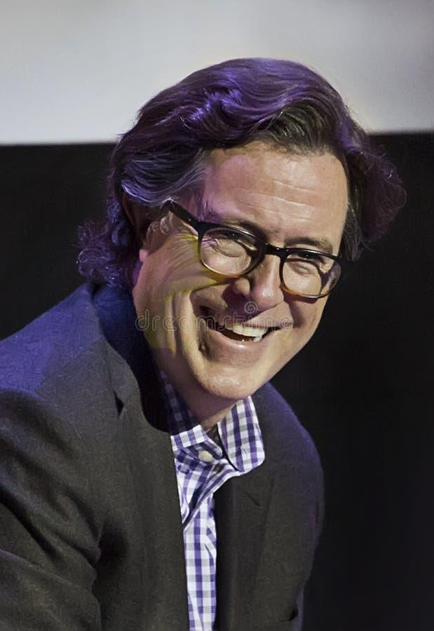 Stephen Colbert au festival 2015 de film de Montclair photographie stock