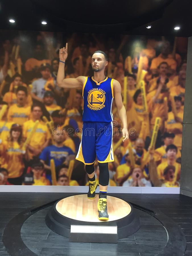 Stephen curry obrazy stock