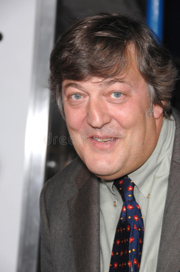 Stephen Fry stockfotos