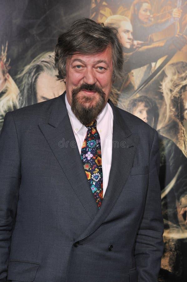 Stephen Fry fotografia de stock royalty free