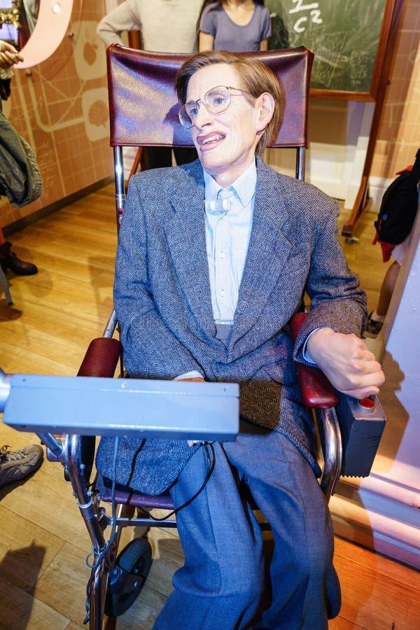 Stephen Hawking fotografia stock libera da diritti