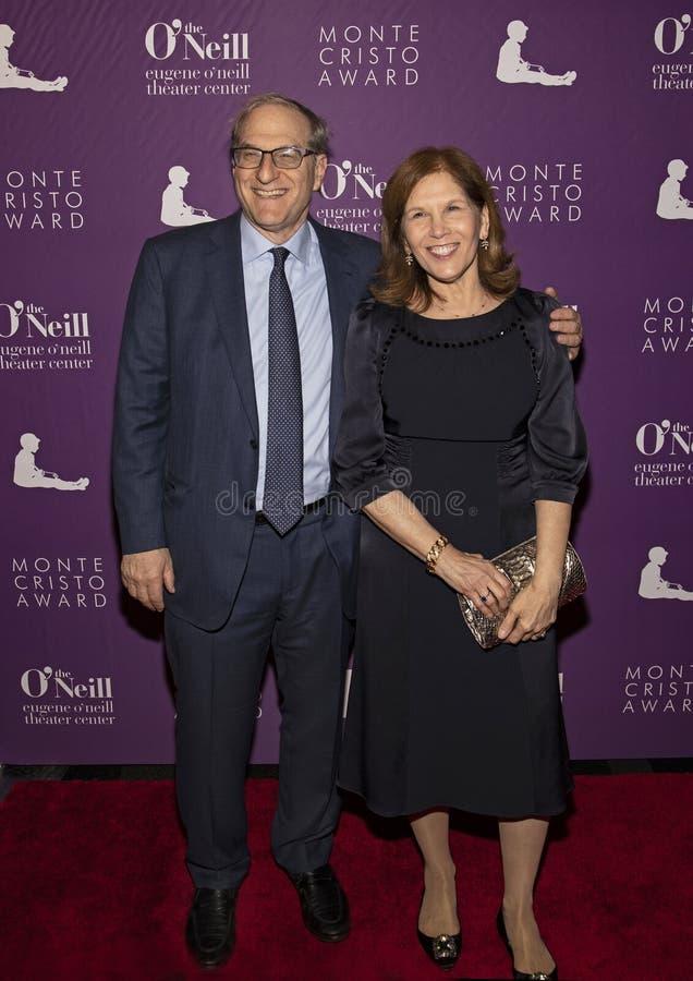 Stephen Hendel och Ruth Hendel på den 19th årliga Monte Cristo Award arkivbilder