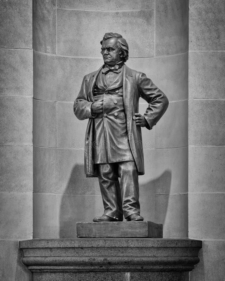 Stephen A Het standbeeld van Douglas stock foto