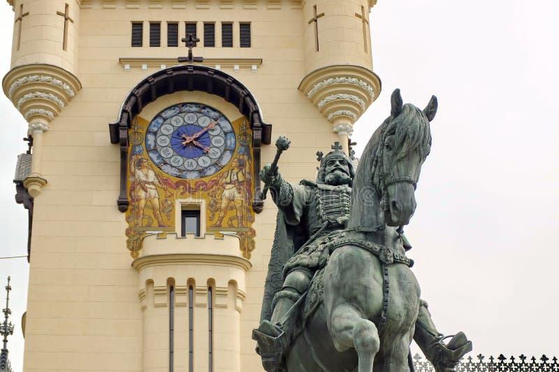 Stephen la grande statue images libres de droits