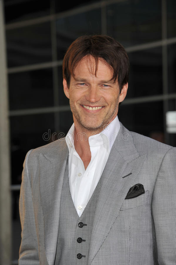 Stephen Moyer-, Stephen Moyer immagine stock
