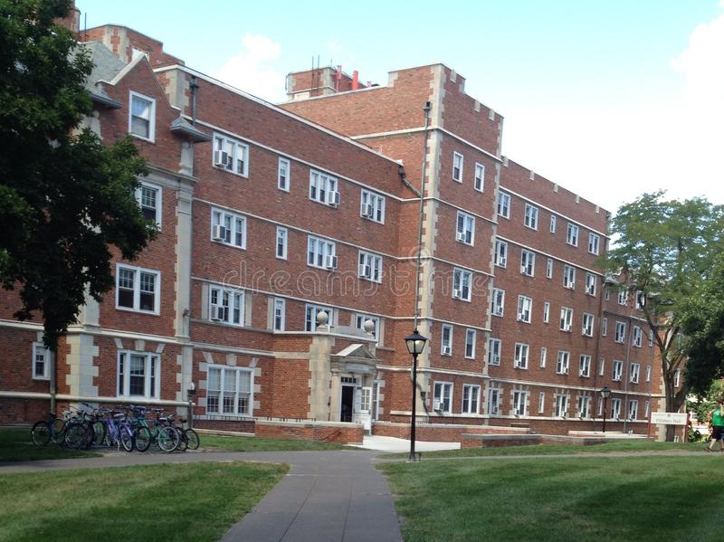 Stephens College in Columbia, MO stock image