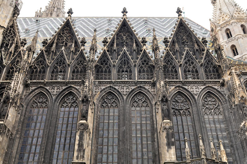 Stephens Dom In Vienna,Austria Stock Images