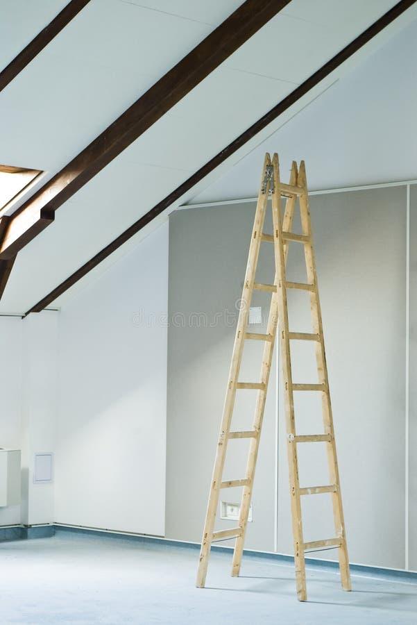 Download Stepladder stock image. Image of indoor, space, interior - 11289585