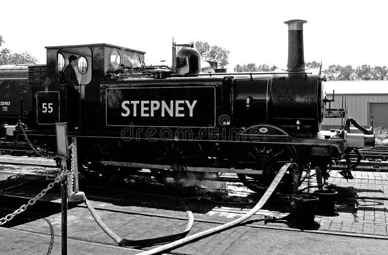 Stepney двигатель bluebell стоковое фото rf