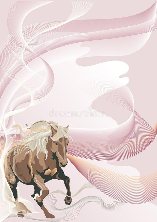 Steppe stock illustration