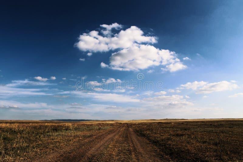 Steppe de la Crimée photo libre de droits