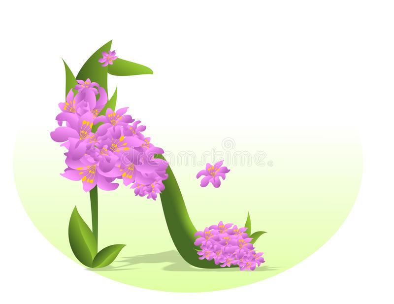 Download Stepping In Spring, Cdr Vector Stock Vector - Image: 19157504