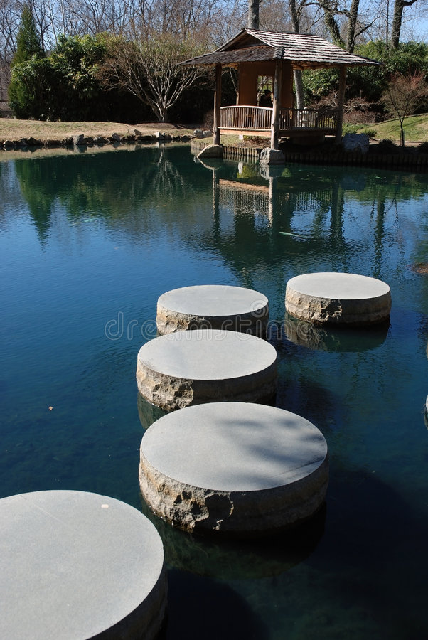 Download Stepping Stones stock photo. Image of water, garden, national - 4785326