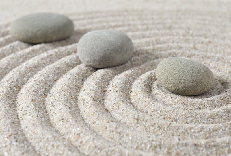 Stepping zen stones stock photo