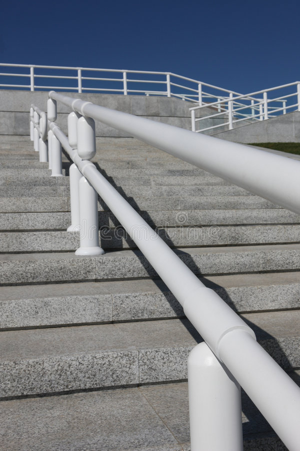 Free Steps And Handrail Stock Photography - 6562032